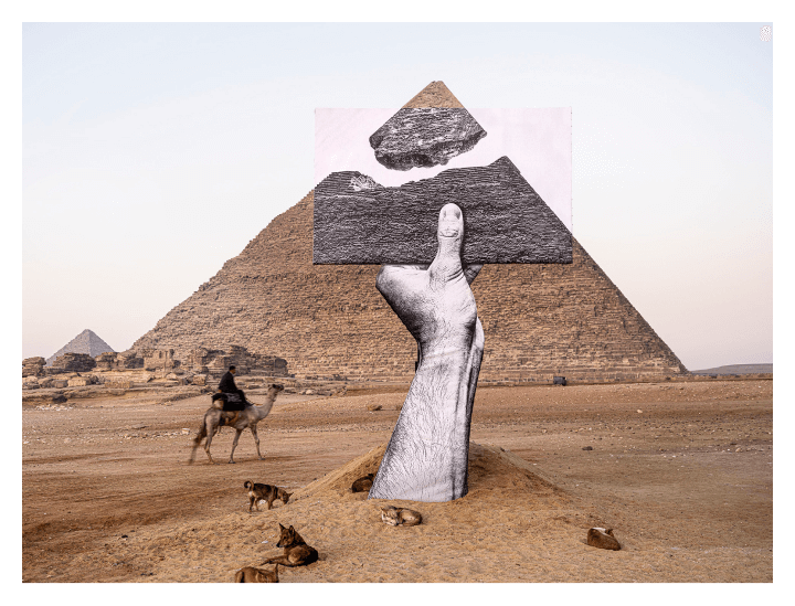 HENI Launches Great Pyramid of Giza NFT Installation With JR on Palm Blockchain
